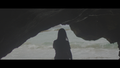 Under A Cave, White Dress