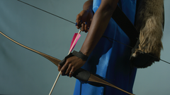 Woman with bow and arrow